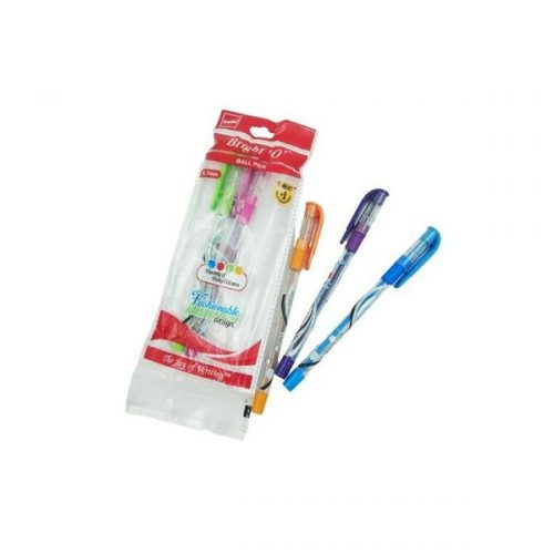 Cello Bright 'O' Blue Ball Pen 0.7 mm Pack of 5_1615832036591-Open View_result_result