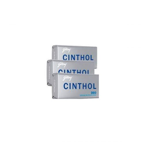 Cinthol Germ Protection Insta Deo Bath Soap (3 x 100 g) Pack of 3 PCs_Front Combined