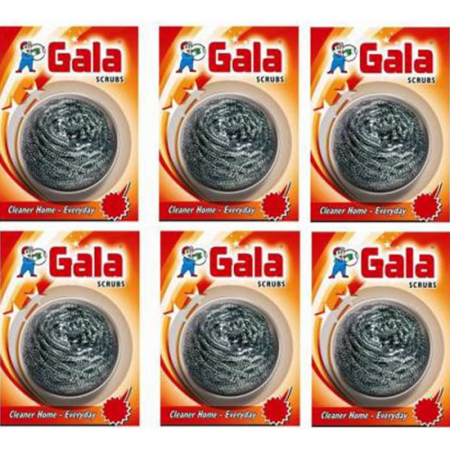 Gala Swashscrubs Steel Scrubber Pack of 1 PCs_Multi_carttray