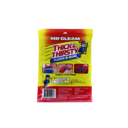 MR GLEAM Thick & Thirsty Floors Plus More 3 in 1 Cloth XL Size_Back_carttray